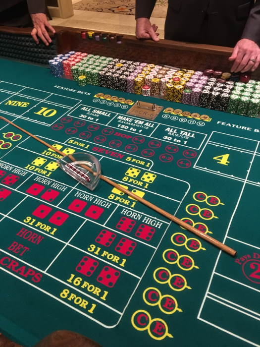 Craps odds: the mathematical basis of certain values frequency