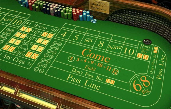 Free online craps are very popular with players